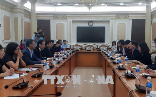 Thành phố Hồ Chí Minh tăng cường hợp tác với thành phố Daegu, Hàn Quốc