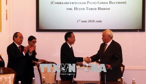 Thành phố Hồ Chí Minh và thành phố St. Petersburg (Nga) tăng cường hợp tác