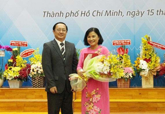 Trường Đại học Khoa học Xã hội và Nhân văn TP.Hồ Chí Minh có nữ hiệu trưởng đầu tiên