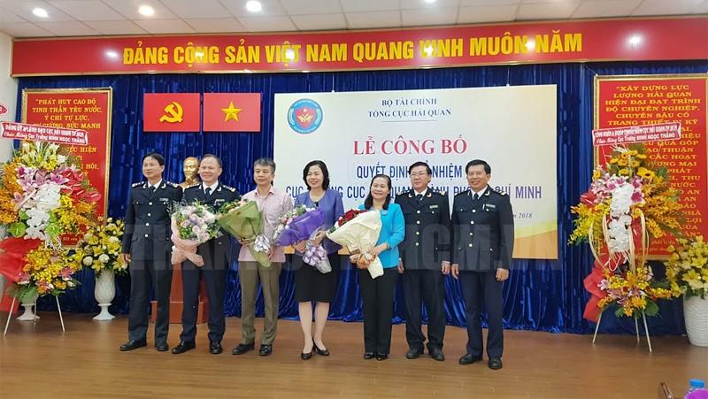 Công bố Quyết định bổ nhiệm Cục trưởng Cục Hải quan TP. Hồ Chí Minh