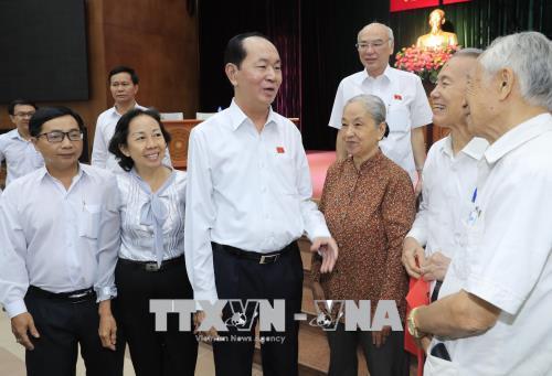 Chủ tịch nước Trần Đại Quang: Quan điểm, tư tưởng chỉ đạo của Đảng, Nhà nước là nhất quán