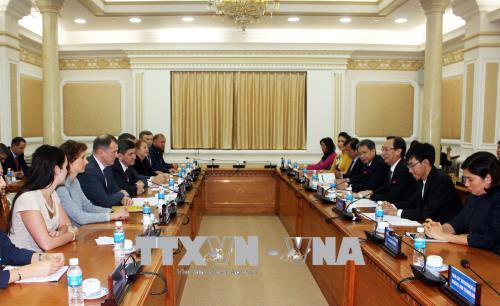 Thành phố Hồ Chí Minh đẩy mạnh hợp tác với thành phố Saint Petersburg (Liên bang Nga)