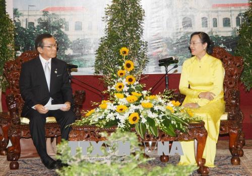 Thúc đẩy hợp tác nhiều lĩnh vực giữa Thành phố Hồ Chí Minh và tỉnh Fukuoka (Nhật Bản)