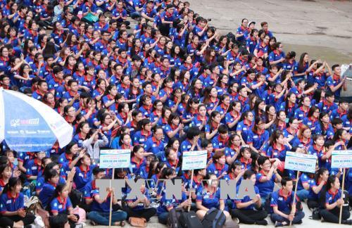 """Hơn 20.000 lượt sinh viên tham gia chương trình """"Tiếp sức mùa thi 2018"""""""