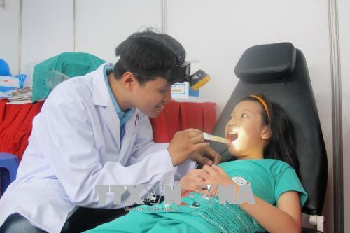 Ngày hội chăm sóc sức khỏe trẻ em tại Thành phố Hồ Chí Minh