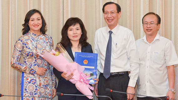 Đồng chí Huỳnh Thị Thanh Hiền được bổ nhiệm làm Phó Giám đốc Sở Tài chính TPHCM