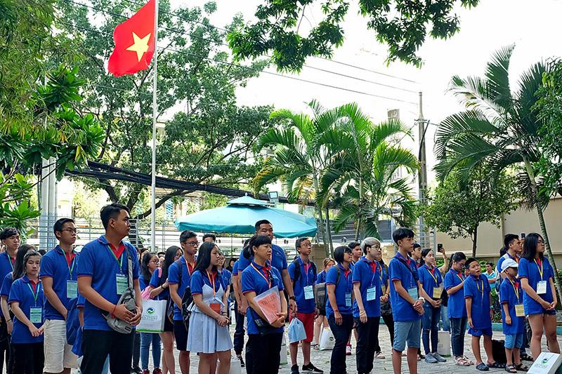 Khai mạc Trại hè thanh thiếu niên kiều bào và tuổi trẻ TP Hồ Chí Minh