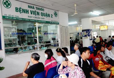 Tỷ lệ khám chữa bệnh tại bệnh viện quận, huyện gia tăng