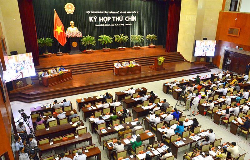 HĐND TP. Hồ Chí Minh thông qua nhiều nghị quyết quan trọng