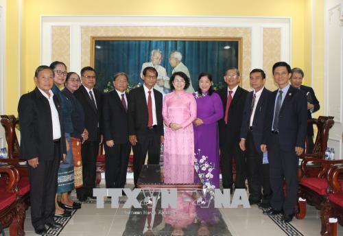 Chia sẻ kinh nghiệm hoạt động Mặt trận giữa TP. Hồ Chí Minh và tỉnh Champasak (Lào)
