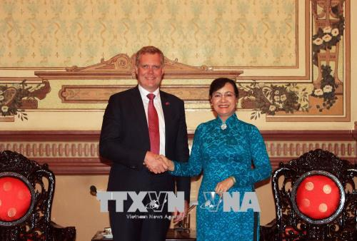 Lãnh đạo Thành phố Hồ Chí Minh tiếp Chủ tịch Hạ viện Australia