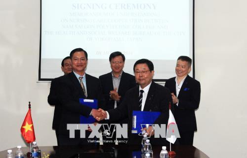 Thành phố Hồ Chí Minh và thành phố Yokohama (Nhật Bản) hợp tác về đào tạo điều dưỡng