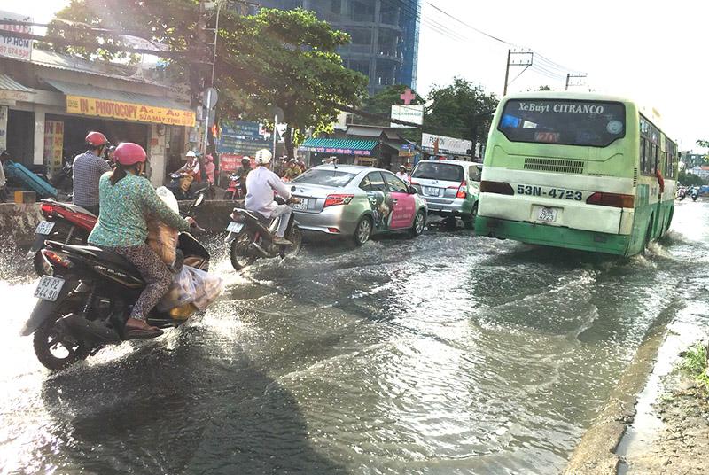 TP Hồ Chí Minh kêu gọi đầu tư các dự án chống ngập, xử lý nước thải