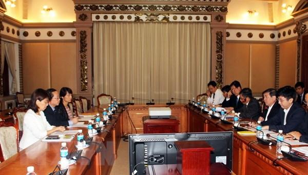 Thành phố Hồ Chí Minh và JICA Việt Nam đẩy mạnh phối hợp đảm bảo tiến độ các dự án