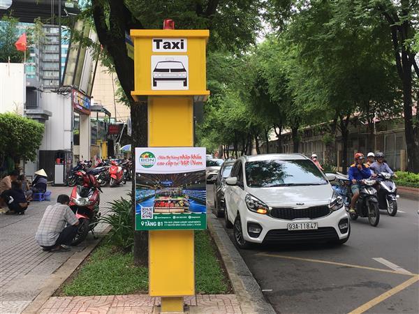 Ra mắt 5 điểm đón taxi cố định tại quận 1