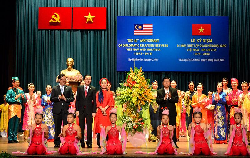 TP Hồ Chí Minh góp phần quan trọng vào mối quan hệ tốt đẹp Việt Nam - Malaysia