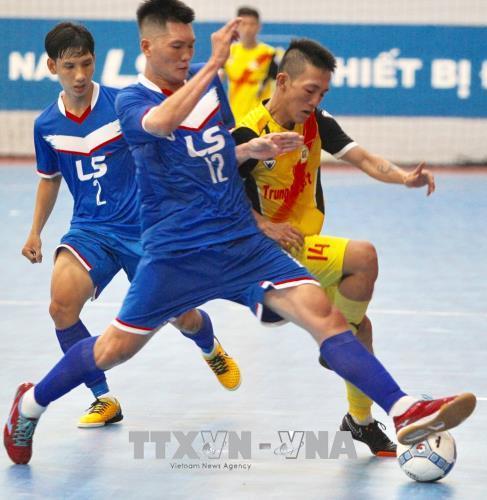 Thái Sơn Nam Quận 8 vô địch Giải Futsal vô địch Thành phố Hồ Chí Minh mở rộng năm 2018