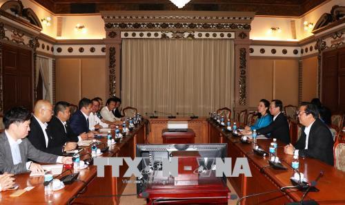 Doanh nghiệp Nhật Bản tin tưởng vào tiềm năng phát triển kinh tế của Thành phố Hồ Chí Minh