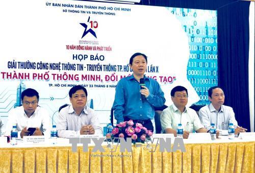 Phát động Giải thưởng Công nghệ thông tin – Truyền thông TP. Hồ Chí Minh lần thứ X