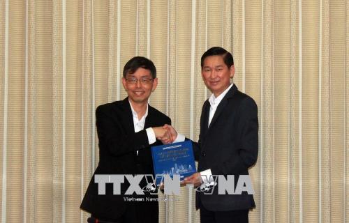 TP. Hồ Chí Minh và Singapore thúc đẩy hợp tác xây dựng đô thị thông minh