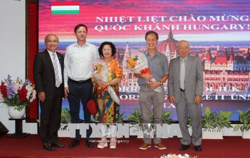 Kỷ niệm Quốc khánh Hungary tại Thành phố Hồ Chí Minh