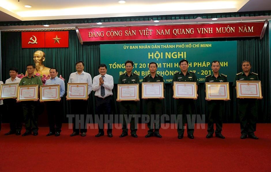 TP. Hồ Chí Minh tổng kết 20 năm thi hành Pháp lệnh Bộ đội Biên phòng
