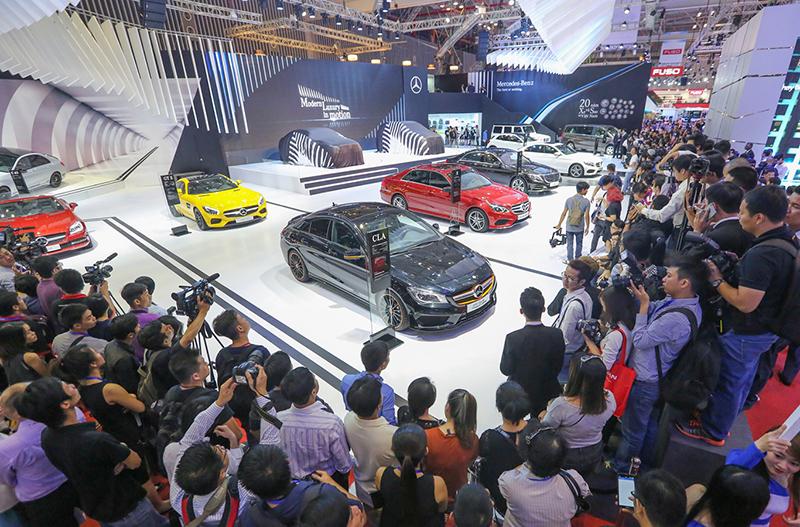 Triển lãm ô tô Việt Nam 2018 quy tụ 15 thương hiệu nổi tiếng