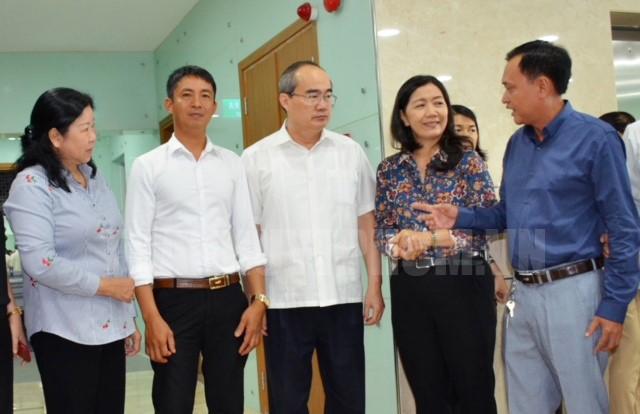 Bí thư Thành ủy TPHCM Nguyễn Thiện Nhân: Phải chuyển biến nhận thức từ sản xuất cá thể sang kinh tế hợp tác