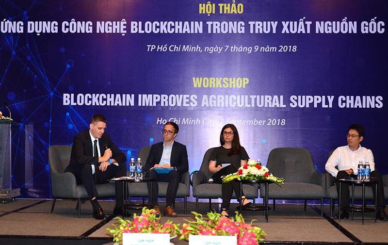 Ứng dụng công nghệ blockchain trong truy xuất nguồn gốc nông sản