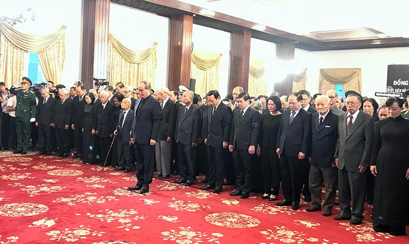 Thành phố Hồ Chí Minh tổ chức trọng thể lễ viếng Chủ tịch nước Trần Đại Quang