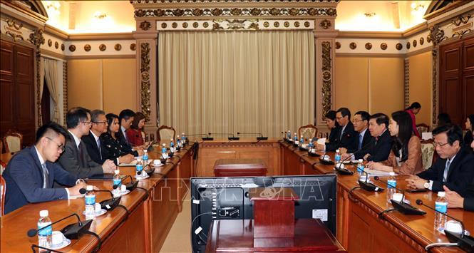 Đẩy mạnh hợp tác giữa Thành phố Hồ Chí Minh và Hồng Kông (Trung Quốc)