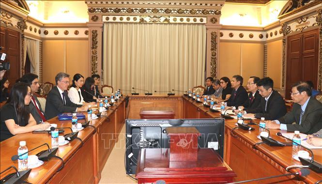 TP. Hồ Chí Minh và Ngân hàng AIIB hợp tác trong xây dựng cơ sở hạ tầng