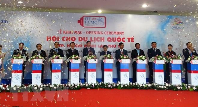 Khai mạc Hội chợ Du lịch Quốc tế Thành phố Hồ Chí Minh lần thứ 14