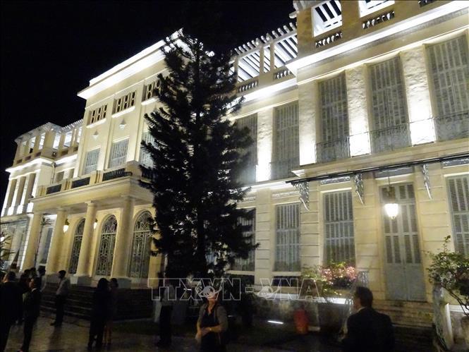 Khánh thành công trình chiếu sáng Bảo tàng Mỹ thuật Thành phố Hồ Chí Minh