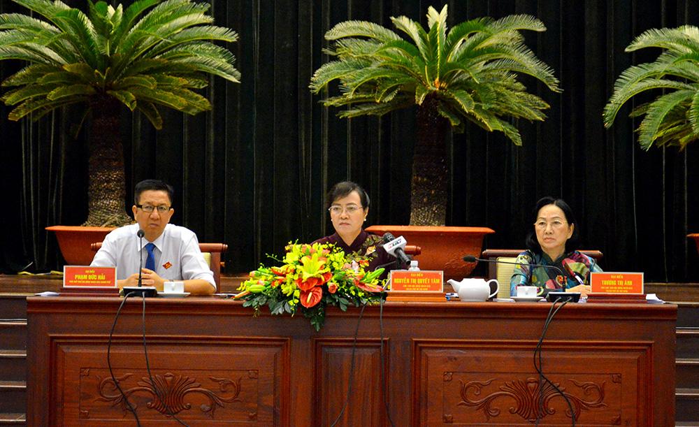 HĐND TP Hồ Chí Minh họp bất thường xem xét nhiều vấn đề quan trọng