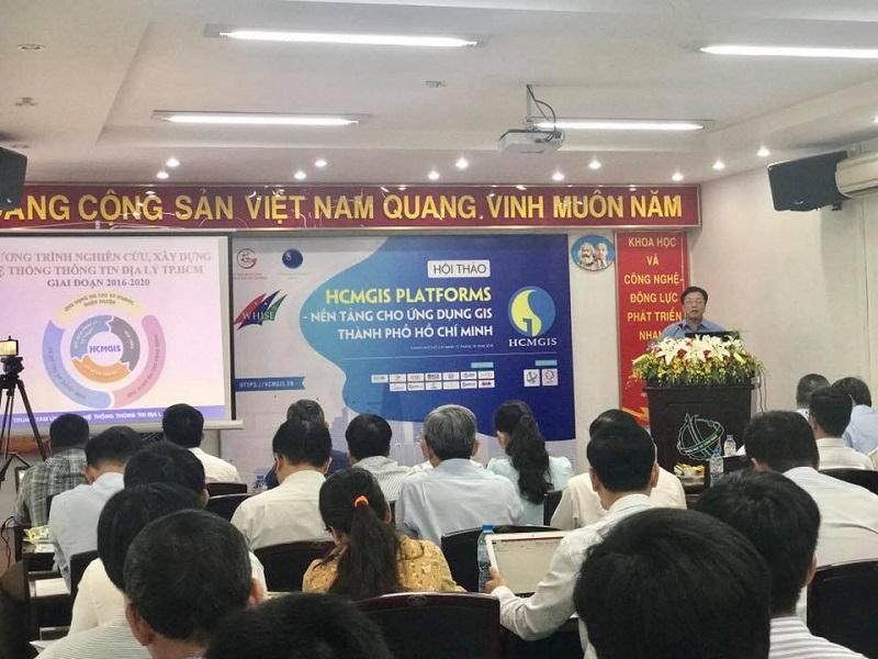 """Phát động Cuộc thi """"Tìm kiếm giải pháp – sản phẩm GIS TP.Hồ Chí Minh năm 2018"""""""
