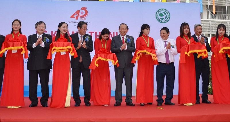Khánh thành Trung tâm kiểm tra sức khỏe Chợ Rẫy Việt – Nhật