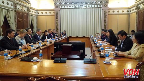 TP.Hồ Chí Minh và Phần Lan tăng cường quan hệ hợp tác kinh tế