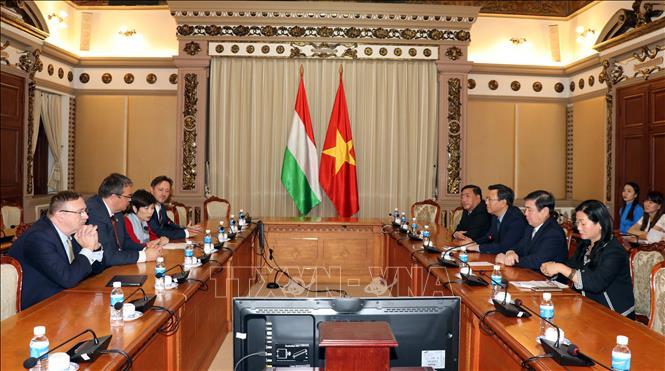 TP Hồ Chí Minh và Hungary thúc đẩy hợp tác kinh tế