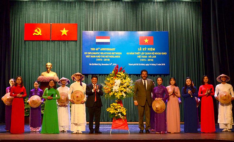 Tăng cường quan hệ hợp tác giữa TP Hồ Chí Minh và Hà Lan