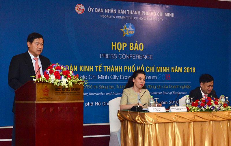 600 chuyên gia, doanh nghiệp sẽ tham dự Diễn đàn kinh tế TP Hồ Chí Minh