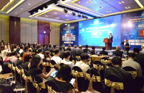 Hơn 500 đại biểu dự Hội nghị Giám đốc tài chính thế giới