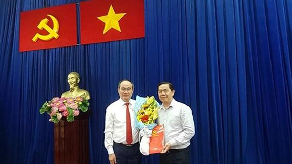 Đồng chí Sử Ngọc Anh giữ chức vụ Bí thư Quận ủy Gò Vấp