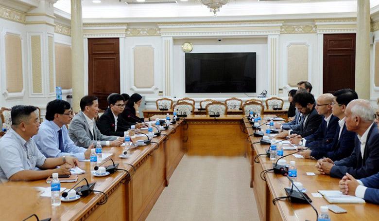 TP Hồ Chí Minh tăng cường hợp tác với Hà Lan trong lĩnh vực quản lý nước