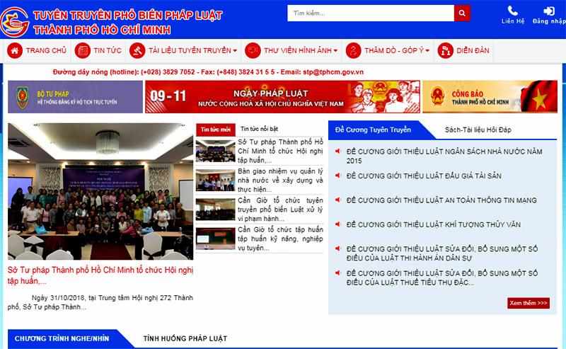 Ra mắt kênh cung cấp thông tin pháp luật