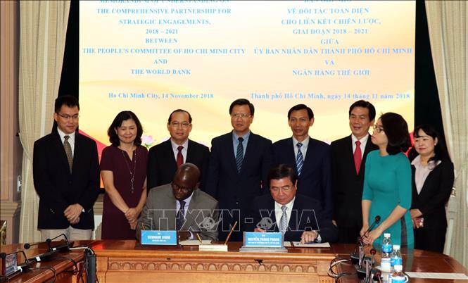 WB cam kết sẽ tiếp tục hỗ trợ TP Hồ Chí Minh