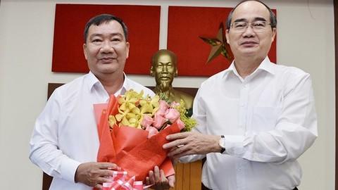 Đồng chí Trần Văn Thuận giữ chức Bí thư Quận ủy Quận 2