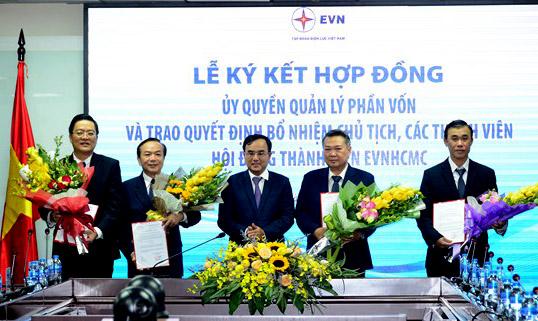 Bổ nhiệm chức vụ Chủ tịch Hội đồng Thành viên EVNHCMC