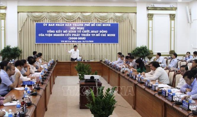 Nâng cao hiệu quả hoạt động của Viện Nghiên cứu phát triển Thành phố Hồ Chí Minh