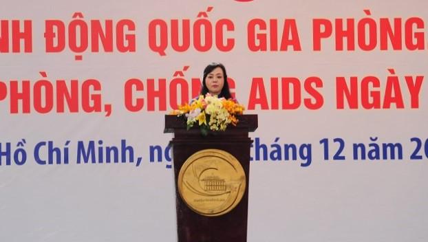 Chung tay hành động vì các mục tiêu phòng chống HIV/AIDS